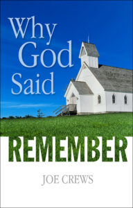 Why God Said Remember - English